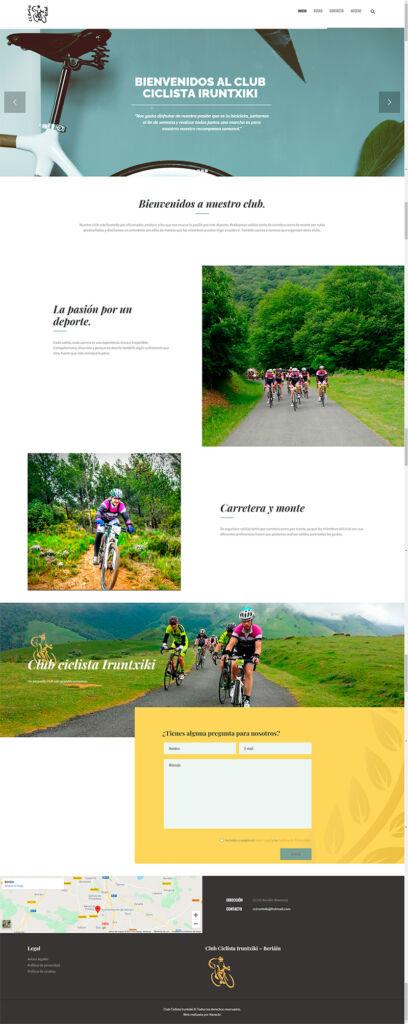 Web club ciclista iruntxiki